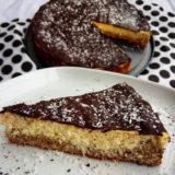 Zdravá bounty torta