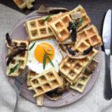 Sýrové waffle