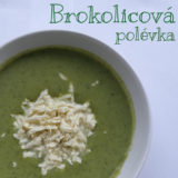 Brokolicová polévka s tofu
