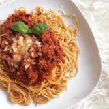 Celozrnné špagety